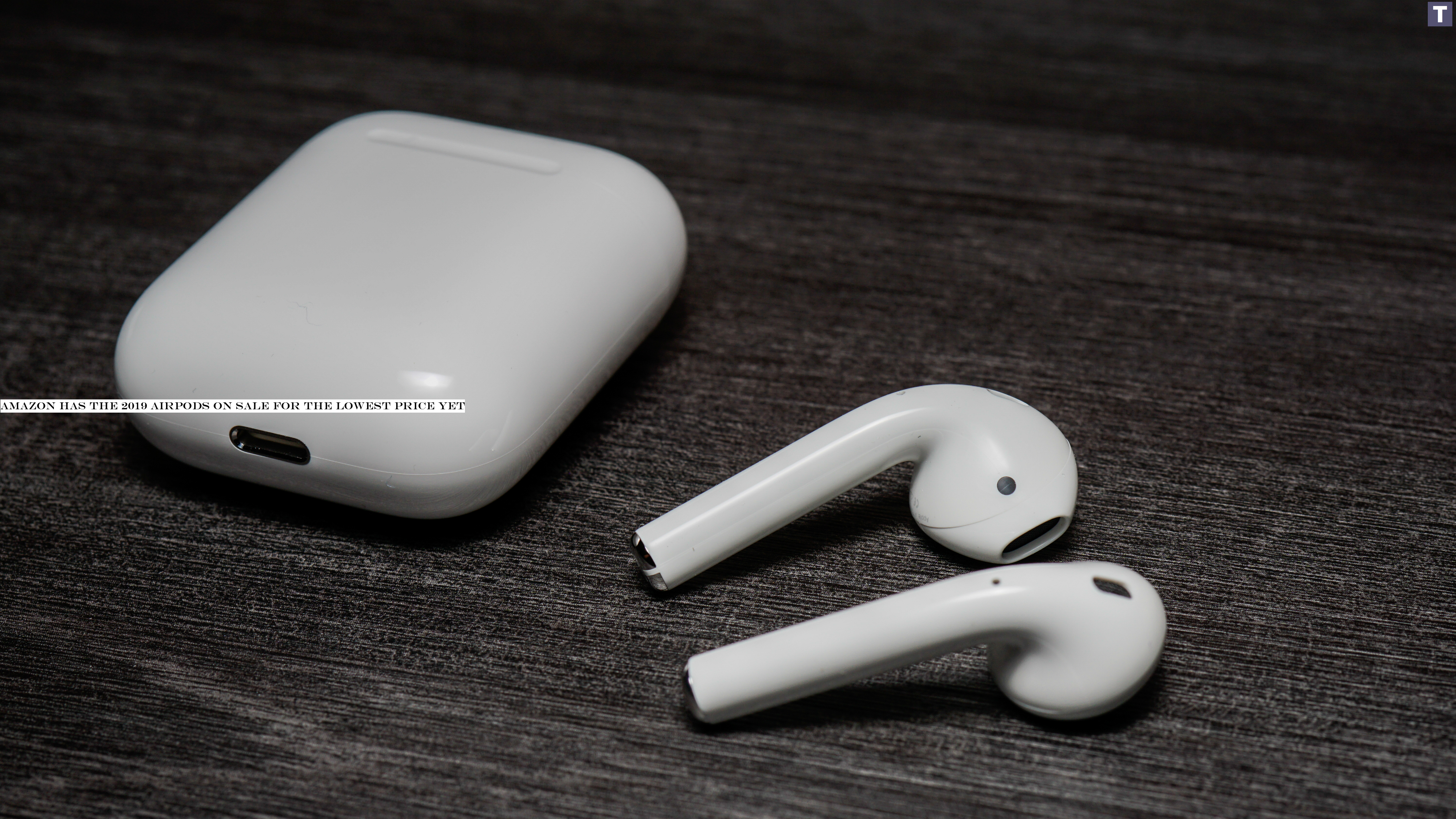 Amazon has the 2019 AirPods on sale for the lowest price yet