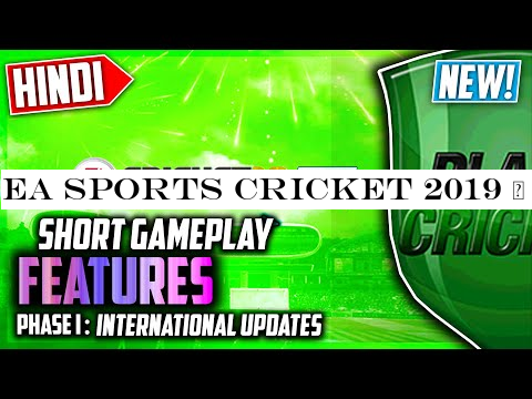 EA Sports Cricket 2019 | PlanetCricket 2019 MEGA Patch Phase