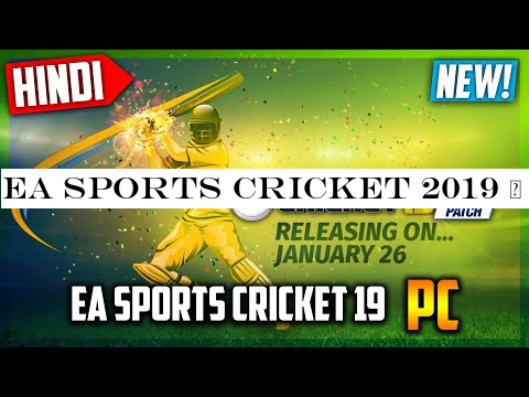 Ea Sports Cricket 2019 Planetcricket 2019 Mega Patch For