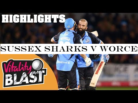Sussex Sharks V Worcestershire Rapids Moeen Ali Masterclass Vitality Blast 2019 Highlights Theindiansubcontinent